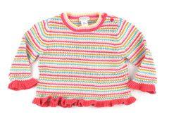 18m / Multi striped sweater / Chandail rayé multicouleur | Changeroo.ca