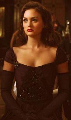 Blair Waldorf style.