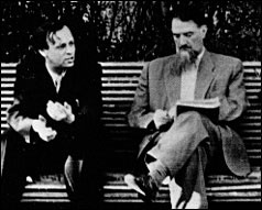 Andrei Sakharov and Igor Kurchatov, the fathers of the Soviet nuclear program.