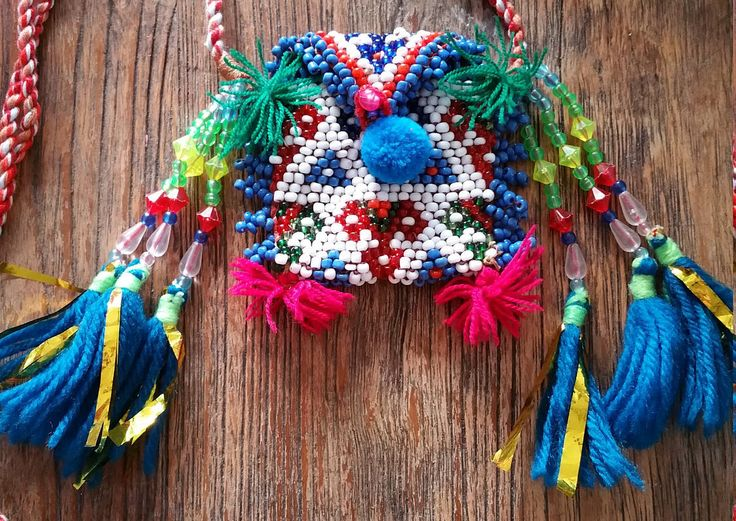 Vintage Beaded Kutchi Pouch, Up Cycled Boho Coin Purse by KavanaEmporium on Etsy