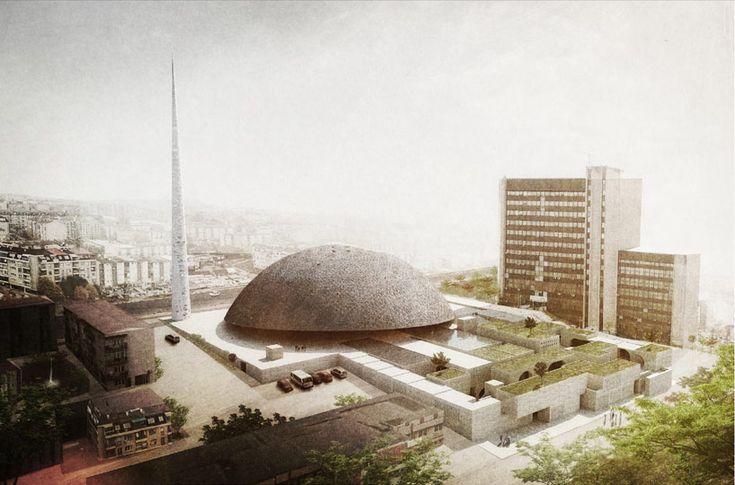 OODA + and-re: pristina central mosque proposal, kosovo