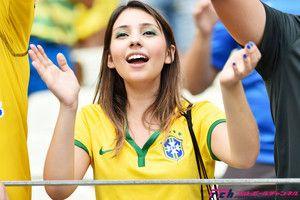 美人サポーター - ブラジルワールドカップ特集 -スポーツナビ