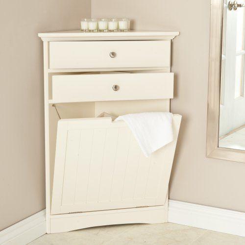 corner hamper | Laney's bathroom | Pinterest | Hampers