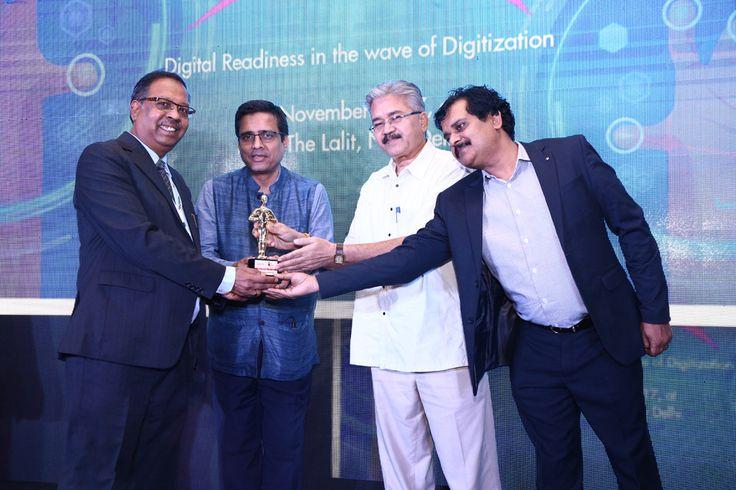 MODI INFOSOL is awarded as the BEST RESELLER-DELHI is being awarded by Vinit Goenka, Member-IT Taskforce, Ministries of Shipping, Road Transport & Highways, Rajiv Kapoor (VP Sales (India & SAARC)- Cambium Networks and Savitur Prasad, Addl. CGDA, Ministry of Defence and Deepak Sahu, Publisher & Group editor- VARINDIA & Kalinga Digital Media