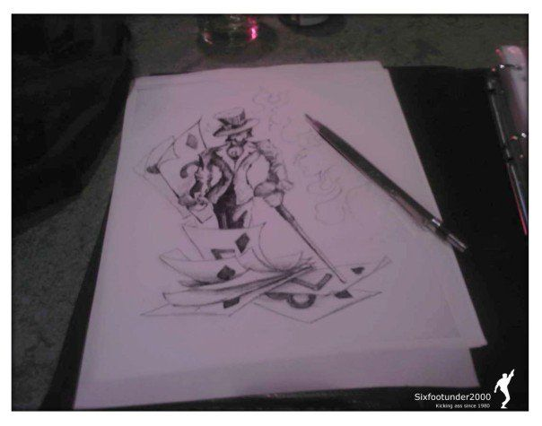 Mad Hatter by ~sixfootunder on deviantART