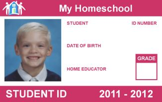 Free Homeschool ID Card - For Teachers and Students - Homeschool Buyers Co-op. Great for teacher discounts!