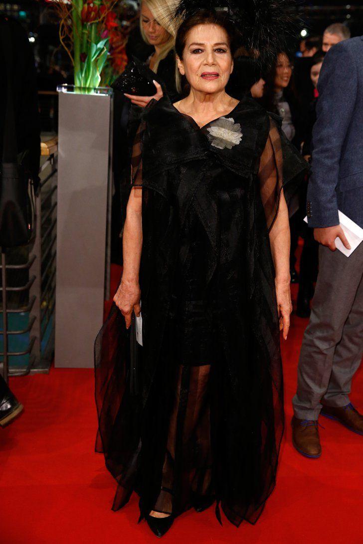 Pin for Later: Das war die 65. Berlinale - seht hier die besten Bilder! Tag 1 Hannelore Elsner