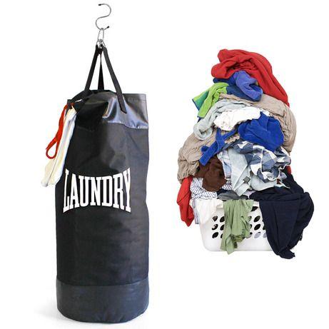 Превратите рутинную работу по дому в фитнес-тренировку! Мешок для белья Punch создан для настоящих бойцов армии чистоты и порядка: складывайте в него грязные вещи, а затем тренируйтесь, подвесив как боксерскую грушу. Повесьте мешок в платяном шкафу, в углу комнаты или ванной и отрабатывайте удары не выходя из дома до тех пор, пока не примете вызов от прачечной. Так же можно использовать с качестве мешка для переноски вещей или как рюкзак для похода в тренажерный зал. В комплекте имеется…