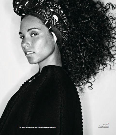 Alicia Keys - Trend Sem Maquiagem