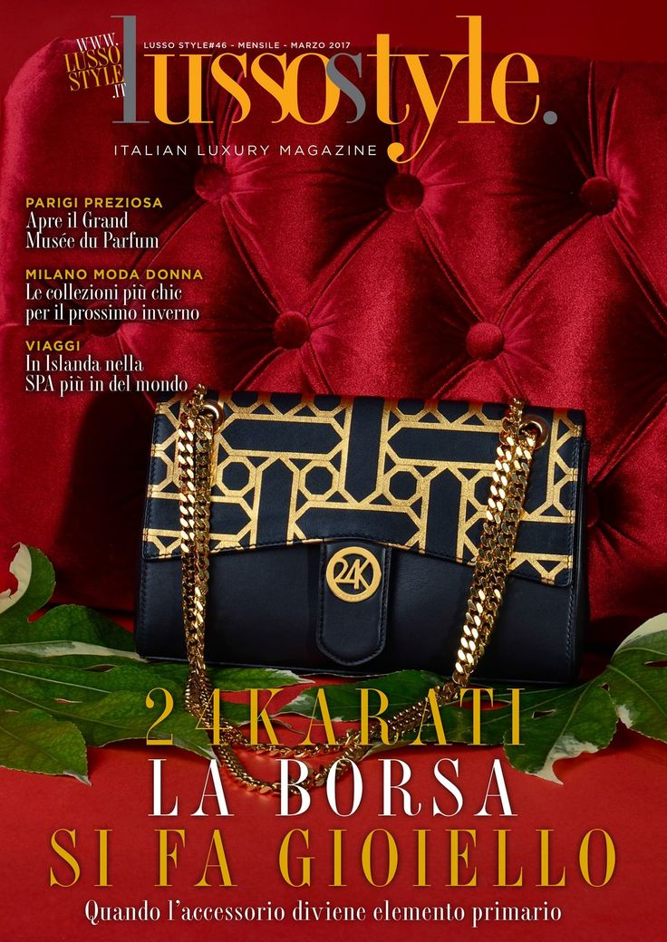 """Cover of """"Lusso Style Magazine"""""""