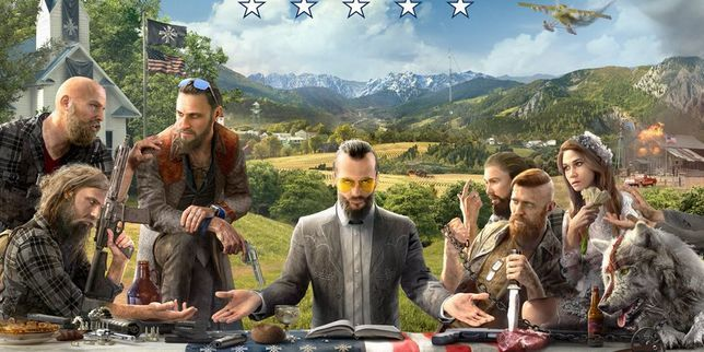La première image du jeu vidéo «Far Cry 5» agace l'extrêmedroite américaine   Une illustration de la prochaine production d'Ubisoft montre une communauté religieuse américaine blanche et armée, qui semble être l'ennem... http://www.lemonde.fr/pixels/article/2017/05/26/la-premiere-image-du-jeu-video-far-cry-5-agace-l-extreme-droite-americaine_5134162_4408996.html