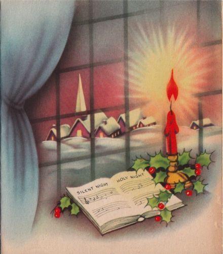 vintage christmas card images windows yahoo image search. Black Bedroom Furniture Sets. Home Design Ideas