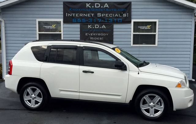 Click to see this great 2009 Jeep Compass Sport 4WD with 83,586 Mi, priced at only $10,987 http://www.knoxvilledirectauto.com/inv/108026