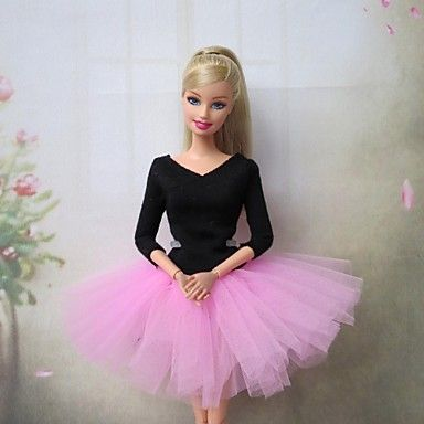 barbie vestido del ballet dulce en rosa – USD $ 7.99