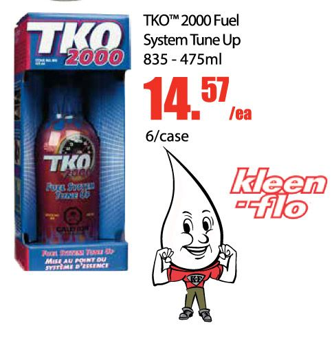 Last day to get TKO 2000 Fuel System Tune Up! Only $14.57 ea and sold in case of 6. TKO 2000 is an extremely concentrated formula that provides rapid clean-up of fuel injector, intake valve and combustion chamber deposits. TKO 2000 restores, protects and maximizes engine performance in gasoline powered vehicles. OEM Specified Formula. https://aadiscountauto.ca/special/858/tko-2000-fuel-system-tune-up.html #TKO #TKO2000 #FuelSystem #TuneUp #AADiscount
