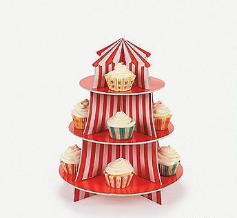 Big Top Cupcake Holder $16.49