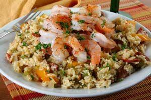Chicken, Shrimp And Sausage Jambalaya and more recipes