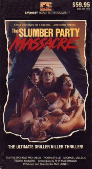 Embassy Home Entertainment VHS Covers