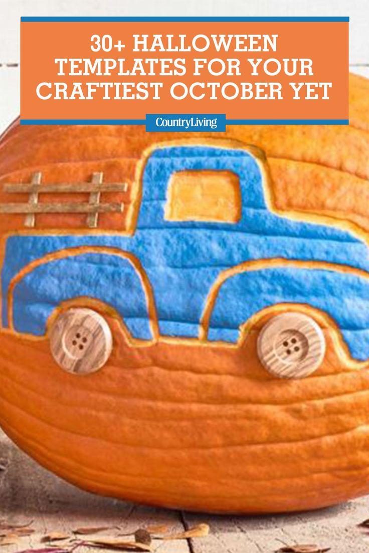 30 Halloween Templates for Your Craftiest October Yetcountryliving