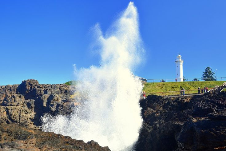 Sky Rockets. An iconic scene from Kiama blowhole in the Illawarra.   #kiama #illawarra #blowhole #newsouthwales