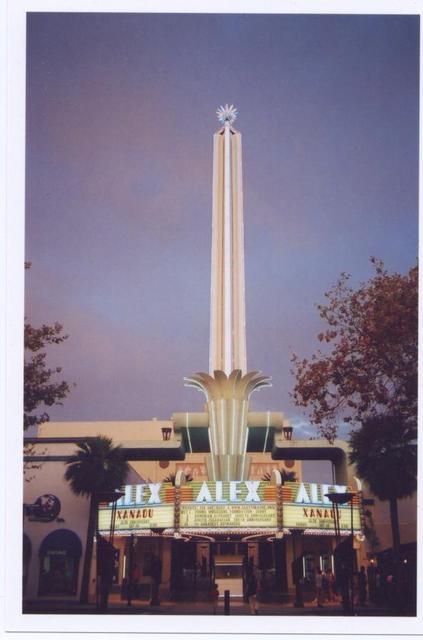 Alex Theatre in Glendale, California  Big Date here for the Locals