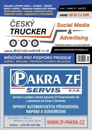 Český Trucker - únor 2017