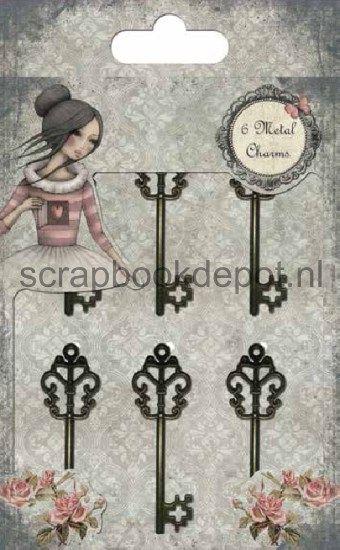 Santoro Mirabelle II Metal Keys