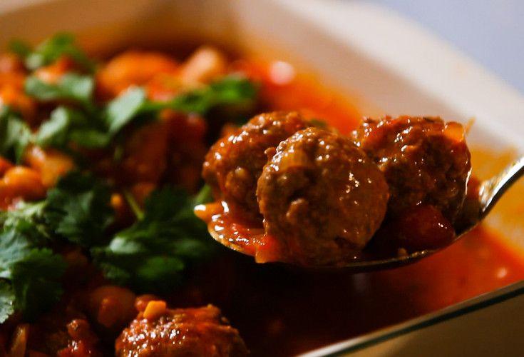 Tasty Spanish Meatballs - Nadia Lim