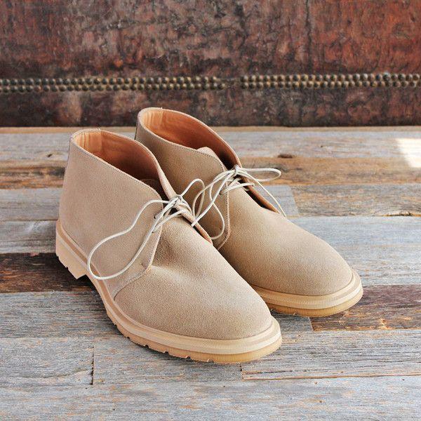 YMC (mens) x SOLOVAIR - DESERT BOOTS (beige)