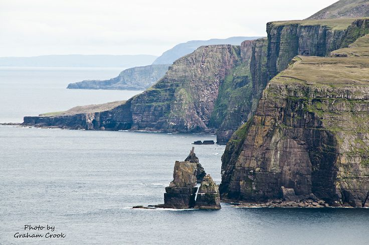 Highest cliffs in Scotland seen from Cape Wrath