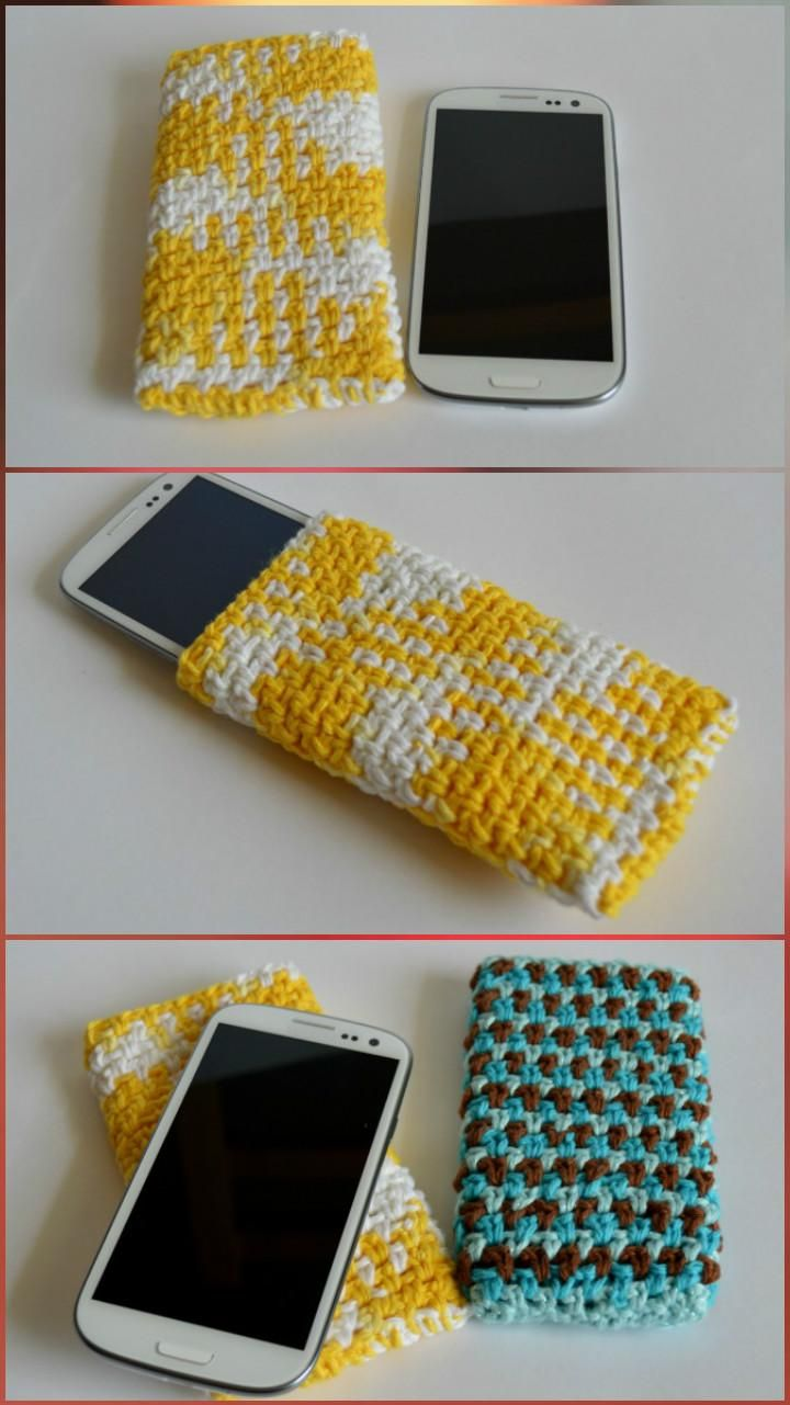 Elegant Crochet Galaxy S3 Cover - 50 Free Crochet Phone Case Patterns - Page 3 of 5 - DIY & Crafts