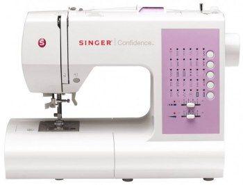 Macchina per cucire Singer Confidence 7463 - Le sue funzioni sono completamente automatiche, selezionabili tramite i pulsanti a lato del pannello frontale.