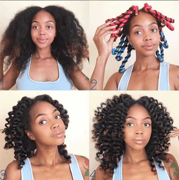 Easy Hairstyles For Medium Length Hair At Home : Best 25 medium natural hair ideas on pinterest twist outs