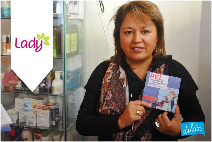 Participante: Margarita Rivas Diseña : Raul Toledo  Ejecuta: Codem Consultores Administra:Camara de comercio industrias de Iquique. Cofinancia: Corfo   www.dilabstudios.com