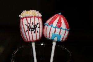 Carnival Cake Pops