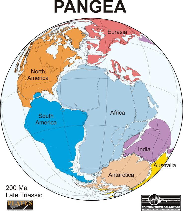 figure ancient super continent pangea credit university of texas at austin