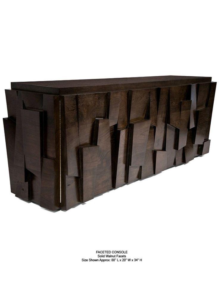Mobilier Du0027exception En Noyer Du Créateur New Yorkais Hudson Furniture