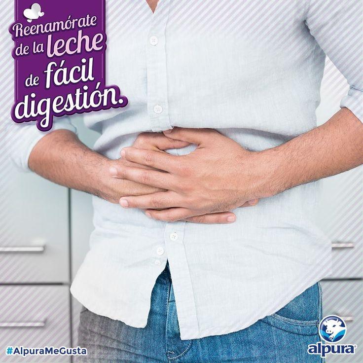 Los síntomas de una mala digestión de la lactosa son dolores e inflamación abdominal. Si te alejaste de la leche por que te inflamabas #ReenamórateConAlpura deslactosada. La que te cuida, la de fácil digestión. http://bit.ly/1Hu0hAe