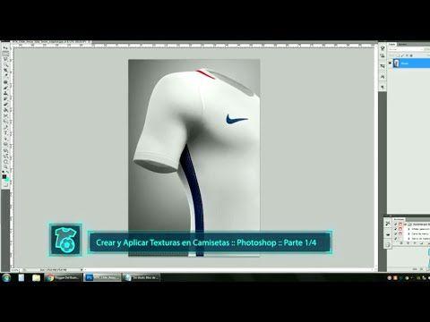TUTORIAL :: Crear y aplicar Texturas en camisetas | Casakero :: Templates / Mockups :: Futbol