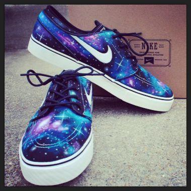 Nike Shoes Galaxy For Girls