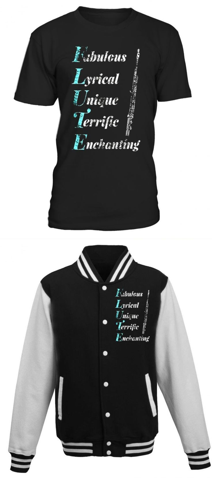 Flute acrostic poem shirt music lovers distressed t