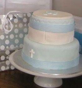 Baptism cake communion cake