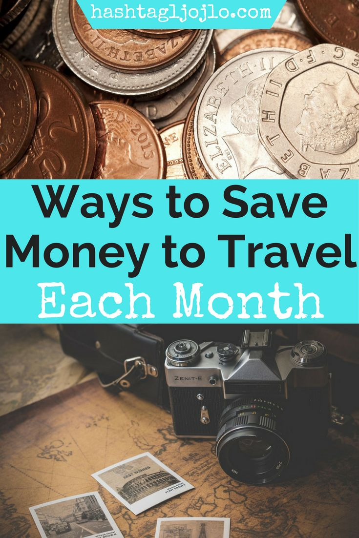 Saving money for a trip can be so difficult. Check out these easy ways to cut costs in order to save for a big trip. We figured out how to save almost $1,000 a MONTH! Make sure you save this to your board so you can use it later.