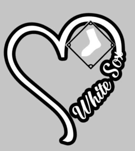 New to EAPersonalizedGifts on Etsy: I Heart Sox decal white sox chicago baseball (4.00 USD)