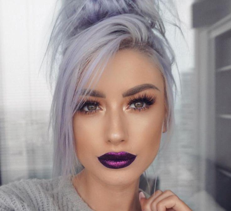 Eu gosto | Tip Top Hair (Ideias Fantásticas para Cabelos) de 2019 | Cabelos tingidos, Ideias de cabelo e Cabelos pintados