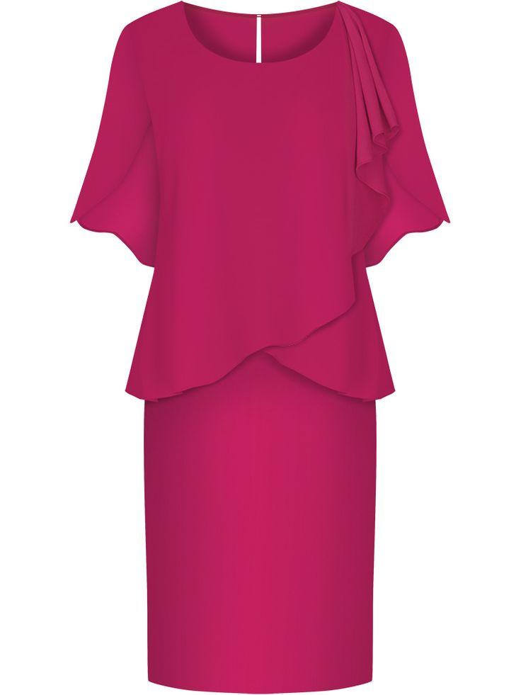 Sukienka wyszczuplająca na wesele czerwona  http://fashion4u.pl/sukienka-wyszczuplajaca-na-wesele-czerwona/  #sukienkanawesele