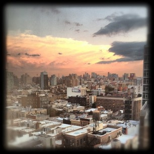 The view from The Standard in East Village, NYC