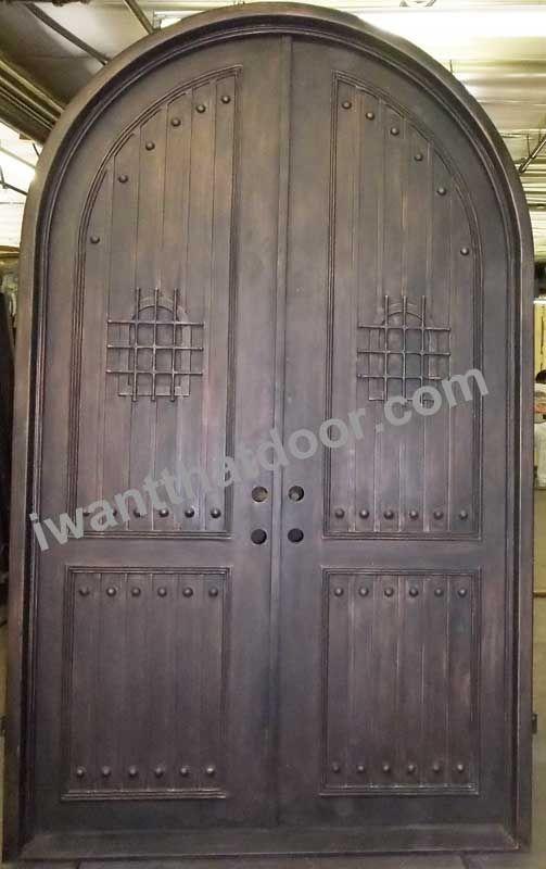 Dragon Round Top Double Iron Door Doors And Gates Pinterest