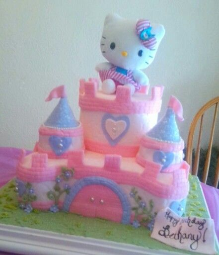 Pictures Of Princess Castle Birthday Cakes