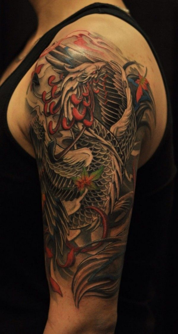 25 beste idee n over phoenix tattoo sleeve op pinterest for How much does a full sleeve tattoo cost